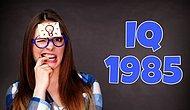 IQ-тест из 1985 года заставит вас попотеть (если только вы не мегамозг)