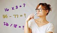 Тест: Сможете ли вы решить наши 9 примеров в голове или заставите краснеть своего школьного учителя по математике?