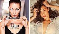 Как лица косметических брендов выглядят без тонн мейкапа: Белла Хадид, Кара Делевинь и компания (22 фото)