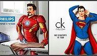 Художница из Перми представила супергероев персонажами из реклам, и вот что из этого вышло