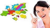 Только настоящие знатоки географии смогут определить эти европейские страны на карте!