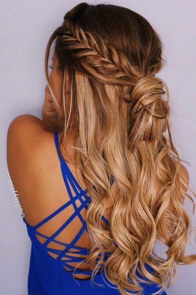 14. Yaz geldi saçımı mı kestirsem düşüncesini de aklımıza bir daha getirmiyoruz. O güzelim saçlara kıyılır mı hiç?