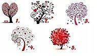 Тест: Выберите любовное дерево, и мы расскажем, какой вам нужен партнер