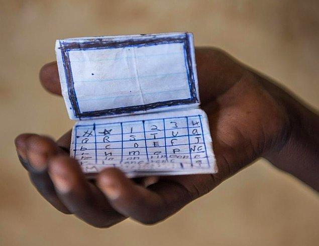 9. Küçük, kağıttan bir bilgisayar: