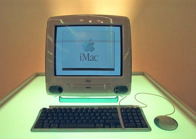 1998 - Apple, Imac'i piyasaya sundu.