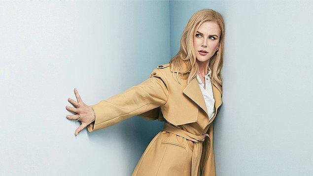 8. Nicole Kidman, Nine Perfect Strangers isimli Big Little Lies'ın yazarı Liane Moriarty'nin aynı isimli romanından uyarlanacak dizinin başrolünde yer alacak.