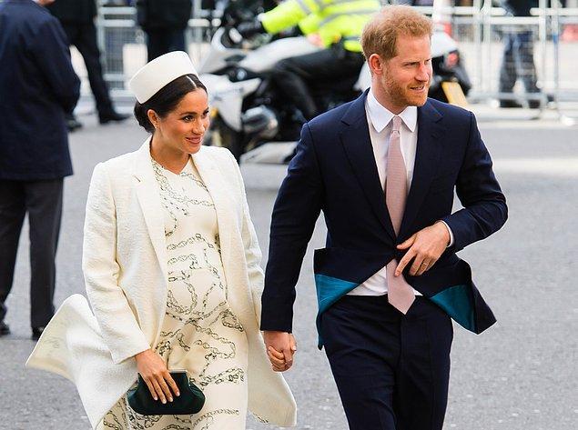 Bildiğiniz üzere Meghan Markle, bebeğini kucağına almak için gün sayıyordu.