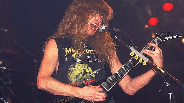 Megadeth'in dünyaca ünlü gitarist ve vokalisti Dave Mustaine'in müzik hayatının başı dramalarla doluydu.