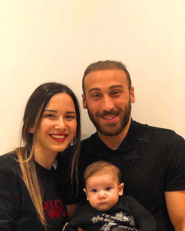 2018 yılında oğulları Arden'in dünyaya gelmesiyle daha da bir güzelleşti bu güzel aile tablosu!