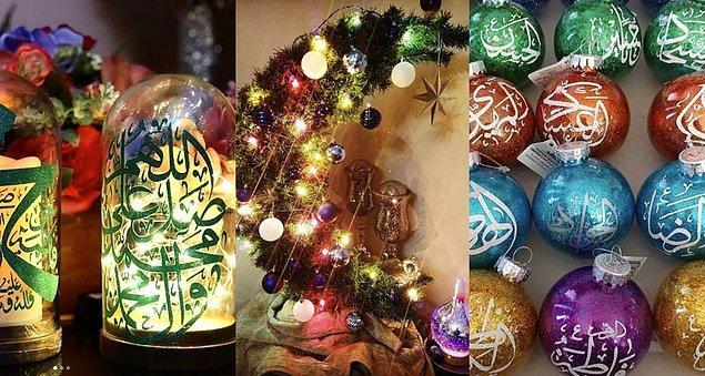 Bu ağaçların amacı özellikle Hristiyan toplumlarda yetişen Müslüman çocuklara kendi dinlerinin de eğlenceli olduğunu hissettirmek.