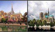 Архитекторы со всего мира предложили необычные варианты шпиля Нотр-Дам