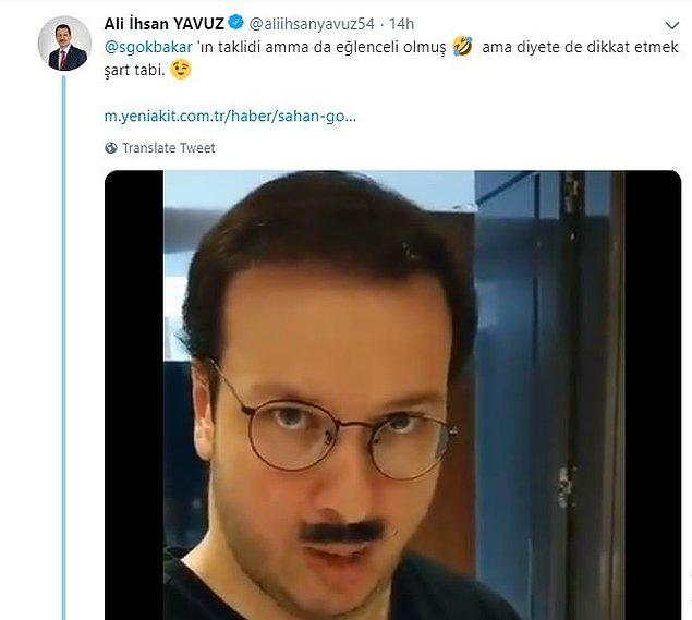 Herkesi kırıp geçiren bu videoya, Ali İhsan Yavuz'dan da cevap gecikmedi...