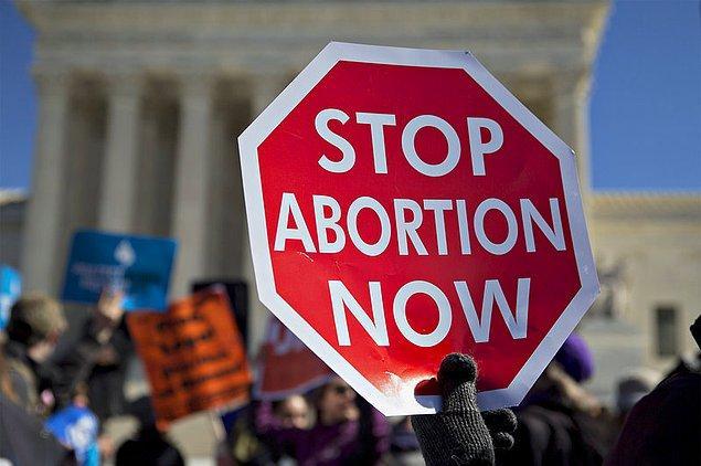 2069'da kürtaj bir seçim meselesi olmaktan çıkacak, fikir olarak bile tamamen ortadan kalkacak.