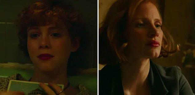 Serinin yeni filminde karakterlerimiz artık birer yetişkin. Beverly'yi oynayan kişi de çok sevdiğimiz Jessica Chastain.