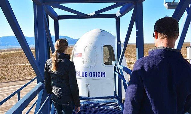 Şirket bugüne kadar başarılı birkaç New Shepard uçuşu gerçekleştirdi bile...