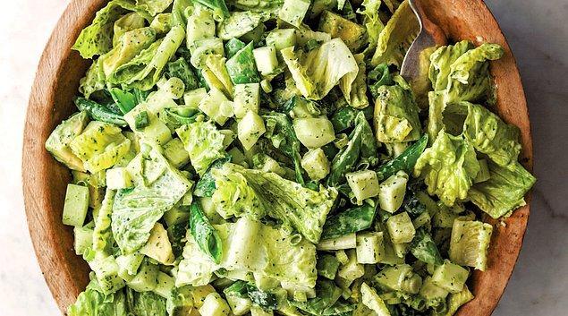 4. Salatamız da hazır.
