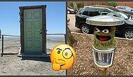 25 фотографий забавных находок, которые люди обнаружили за порогом своего дома