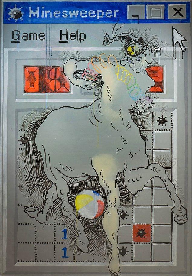 «Сапер», путч и Борис Ельцин: 90-е в рисунках петербужской художницы