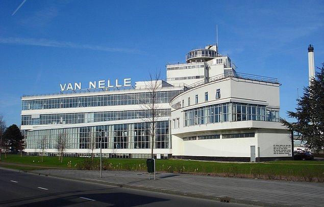13. Van Nelle Fabrikası hangi ülkededir?