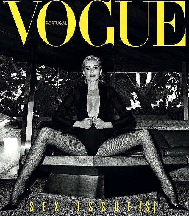 Sharon'ın fotoğrafları Vogue dergisinin Portekiz versiyonunun kapağında yayınlanacak.