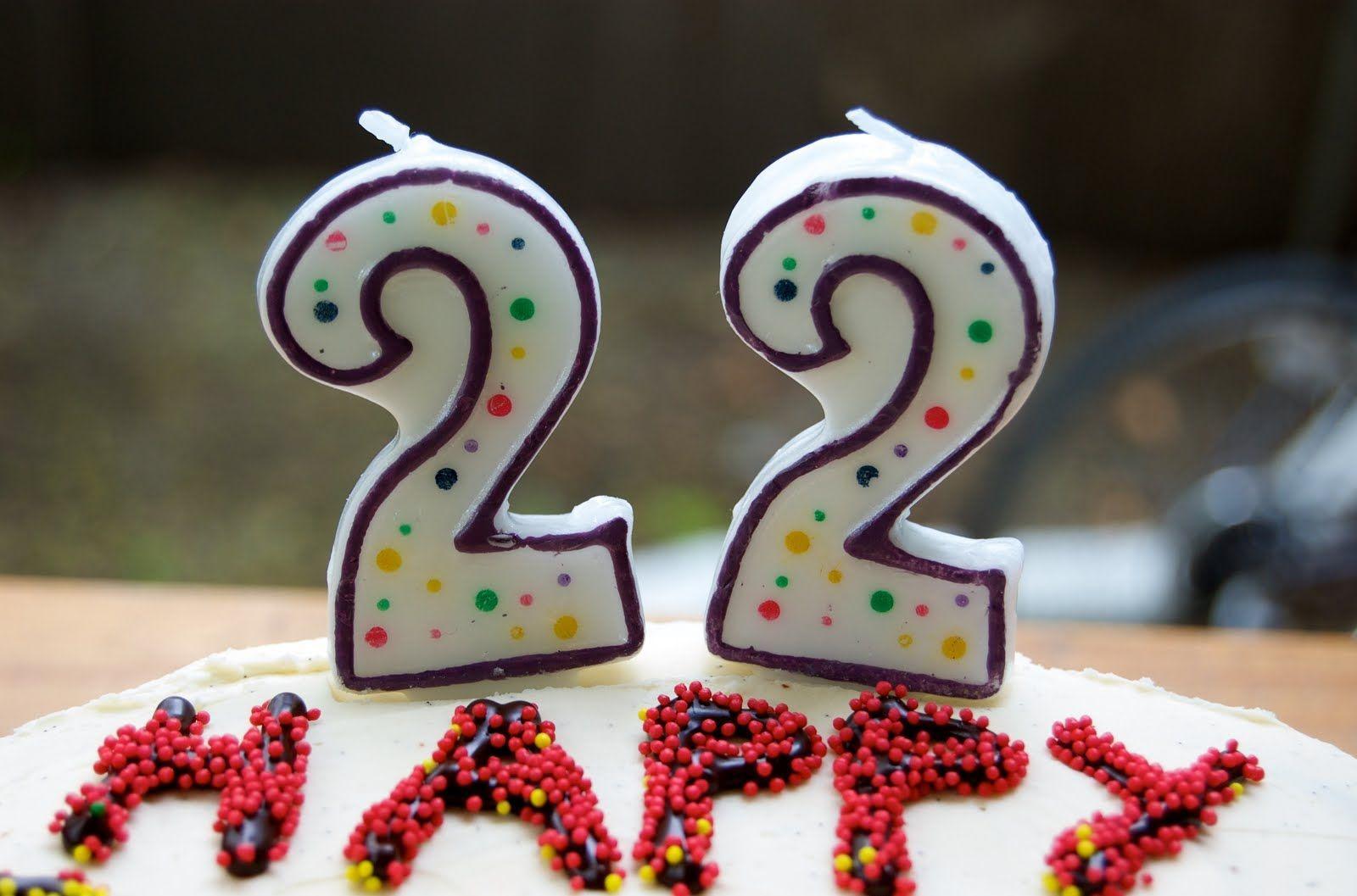 Поздравление с днем рождения девушки 22 года