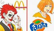 Что если бы популярные бренды стали персонажами аниме (Coca-Cola та еще горячая штучка)