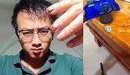 Мир уже не будет прежним: Парень из Китая чинит сантехнику и мебель при помощи печенек и лапши