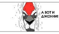 10 юморных комиксов «Если бы птицы умели говорить»