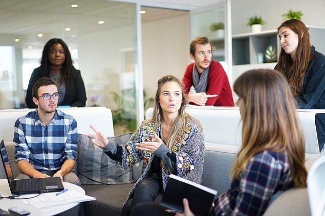 7. İnsanların fikirlerinize katkı sağlamasına izin verin. Böylece fikirlerinizi daha kolay kabul edeceklerdir.