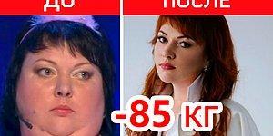 10 российских звезд, которые выиграли битву с лишним весом, отправив его в нокдаун