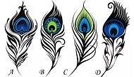 Тест: Выберите павлинье перо, которое укажет вам путь к счастью