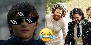 """Умный Дрогон, хитрый Бран и еще 40 шуток на тему финального эпизода """"Игры престолов"""""""