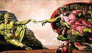 Петербургский художник превращает интернет-мем «лягушенок Пепе» в классическое искусство