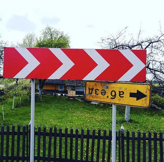 «Яйцен клац-клац» и еще 11 дорожных знаков, которые разнообразят ваши серые будни на дорогах :)