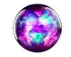 Вы выбрали фиолетовый шар...