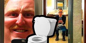 23 фото с такими странными туалетными зеркалами, что вы скажете: «Я лучше до дома потерплю»