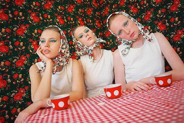 Доярки из 80-х или гламурные девчонки? Неоднозначный фэшн-проект от словацкого дизайнера
