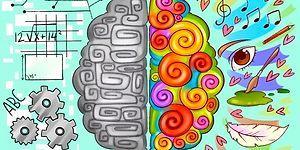 Цветовой тест, который определит, какое полушарие мозга у вас доминирует