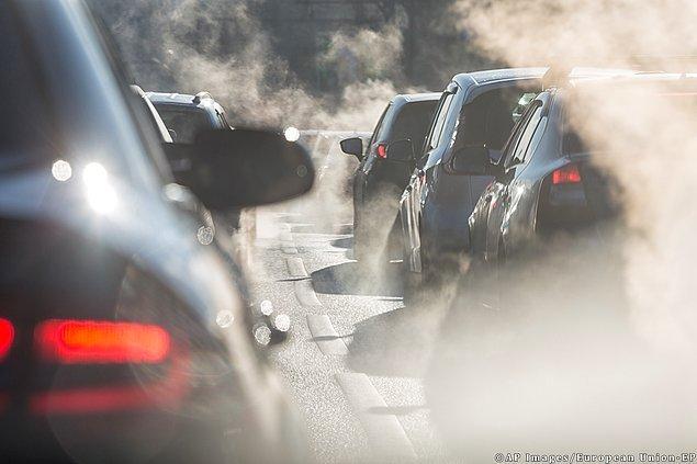 Avrupa'da hava kirliliğinin sebebi emisyonlar