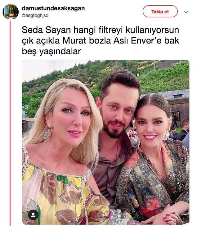 Ancak en çok konuşulan şey, Seda Sayan'ın düğünde paylaştığı fotoğraflardı. Gözler böyle bir photoshop görmemiştir dostlar. Bir tanesi bu mesela!