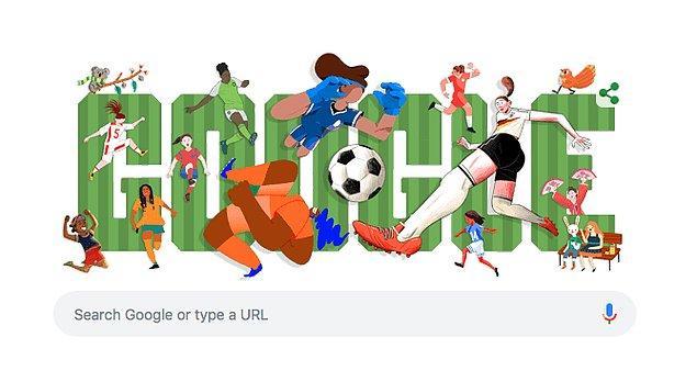 Ayrıca Google'ın yaptığı doodle da tarihe geçeceğe benziyor!