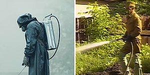 """Подлежит сравнению: Настоящие снимки с места трагедии и кадры из сериала """"Чернобыль"""""""