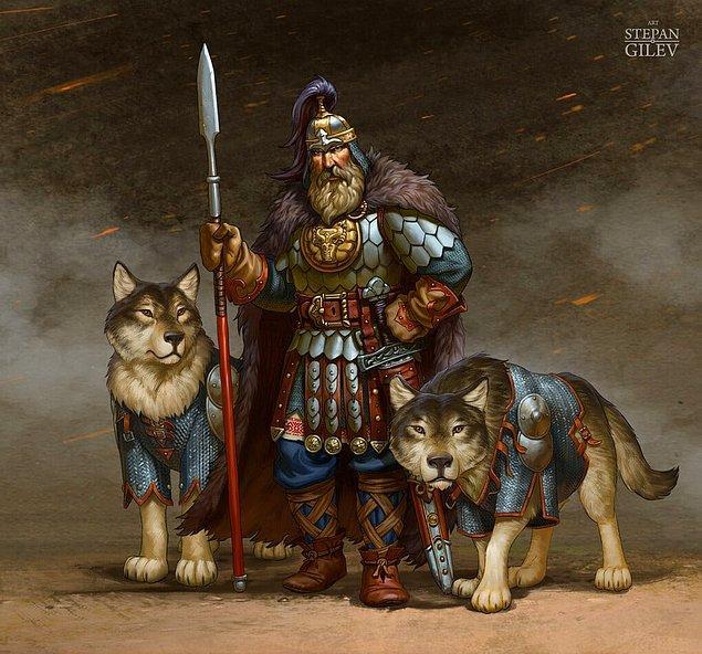 Это по-нашему: Русские богатыри в брутальных образах от барнаульского художника