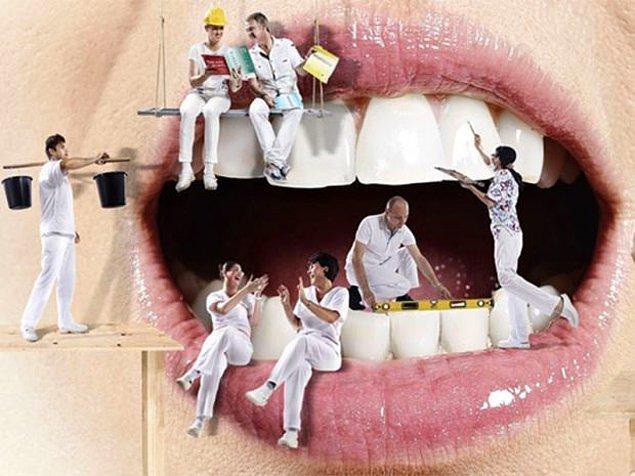 Rüyada dişleriniz dökülüyorsa bu sizi üzebilir.