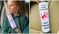 Женщина создает чехлы для ремней безопасности, которые предупреждают работников скорой помощи о проблемах здоровья детей