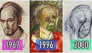 Alzheimer Olduğunu Öğrendikten Sonra Aklında Kaldığı Kadarıyla 5 Yıl Boyunca Kendini Çizmeye Çalışan Ressam: William Utermohlen