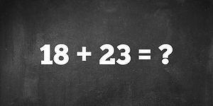 Тест: Мы будем удивлены, если вы сможете решить хотя бы 11/15 этих задач в уме
