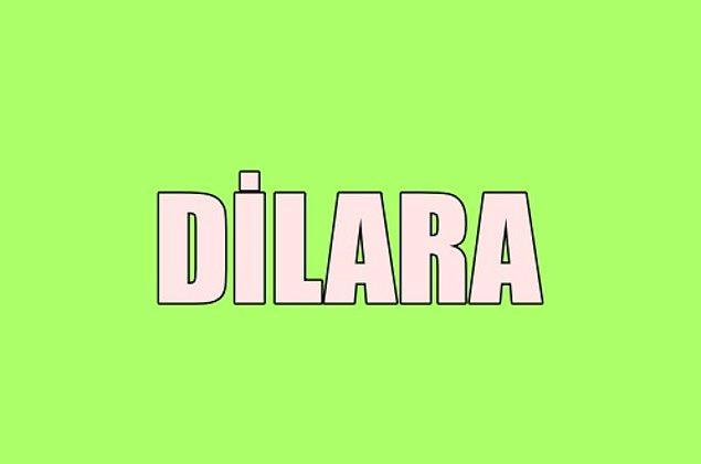 Sana gizliden gizliye aşık olan kişinin adı Dilara!