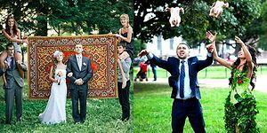 Фото, глядя на которые невозможно понять: этот трэш – свадьба или все же маскарад?