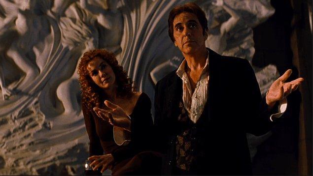 The Devil's Advocate'i özel kılan başka bir etmen ise Keanu Reeves'in başrolü efsane bir isim olan Al Pacino'yla paylaşması...